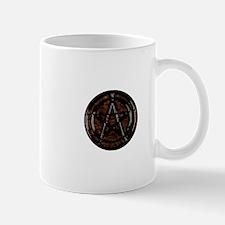 Brown Pentacle Mugs