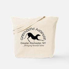 GAGR Black Logo Tote Bag