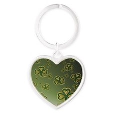 temp_blanket_wrapGold and Green Sha Heart Keychain
