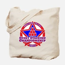 on blk Texas Championship Tote Bag