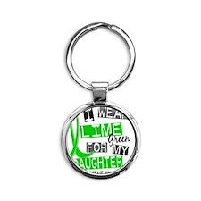 D DAUGHTER Round Keychain