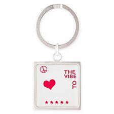 livetodance2 Square Keychain