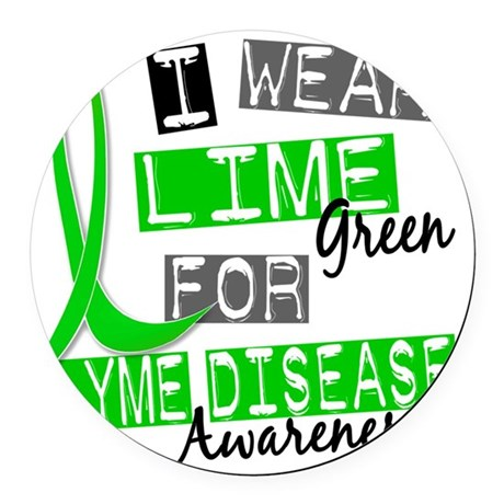 D AWARENESS Round Car Magnet