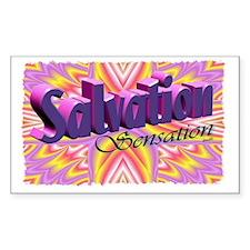 salvation sensation Decal