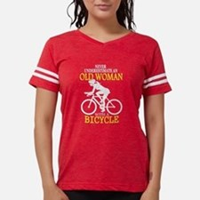Old Woman With A Bicycle T Shirt T-Shirt