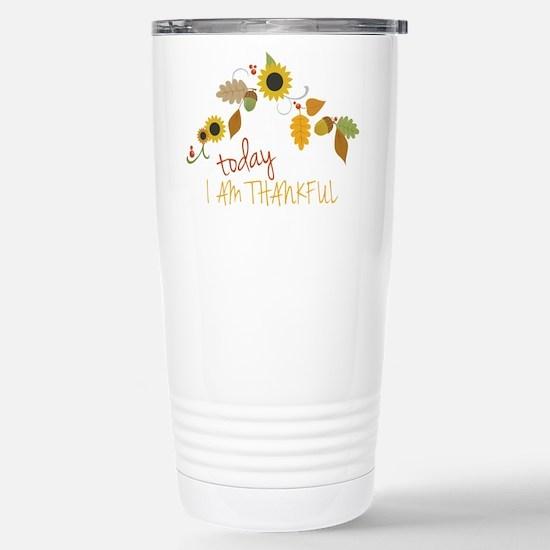 I Am Thankful Mugs