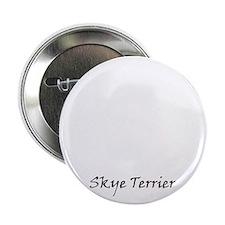 "skye terrier white 2.25"" Button"