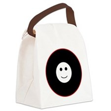 Smiling Canvas Lunch Bag
