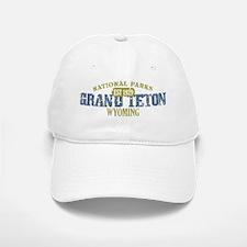 Grand Teton 3 Baseball Baseball Cap