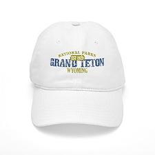 Grand Teton 3 Baseball Cap