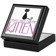 kitten copy Keepsake Box