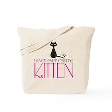 kitten copy Tote Bag