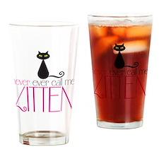 kitten copy Drinking Glass