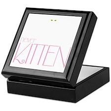 kittendrk copy Keepsake Box