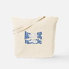 Antarctic fanatic flag Tote Bag