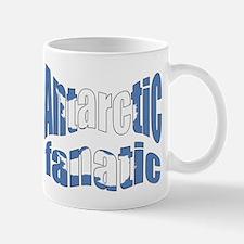 Antarctic fanatic flag Mug
