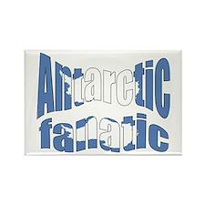 Antarctic fanatic flag Rectangle Magnet