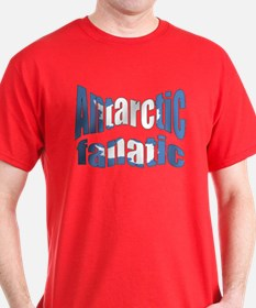 Antarctic fanatic flag T-Shirt