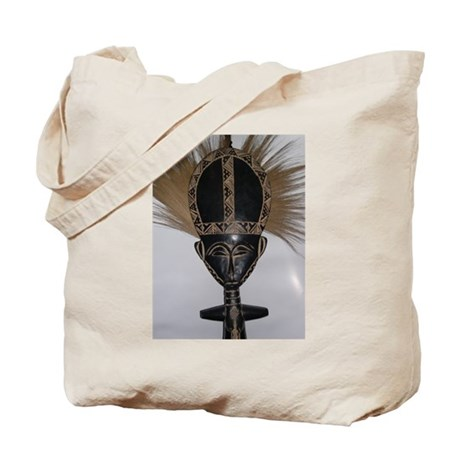 African Fertility Doll Tote Bag