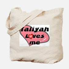 taliyah loves me Tote Bag
