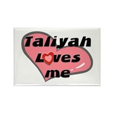 taliyah loves me Rectangle Magnet