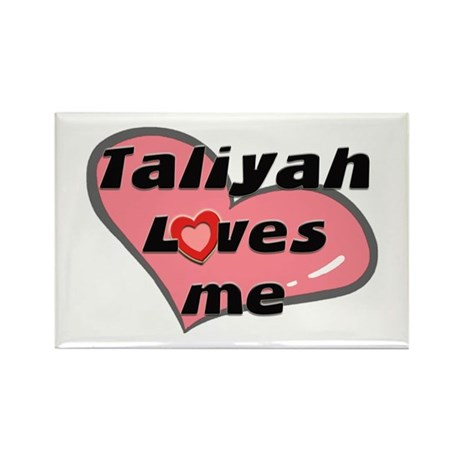taliyah loves me Rectangle Magnet