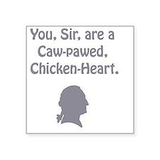 "ye olde - chicken heart Square Sticker 3"" x 3"""