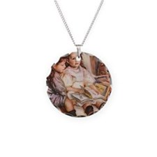 Renoir Necklace Circle Charm