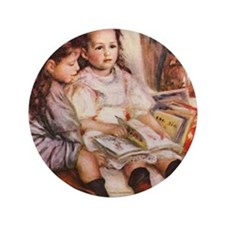 """Renoir 3.5"""" Button"""