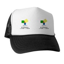 Pythagoras_bev copy Trucker Hat