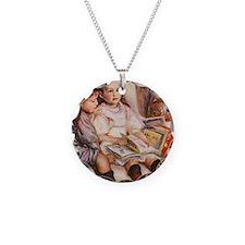 Renoir Necklace Circle Charm