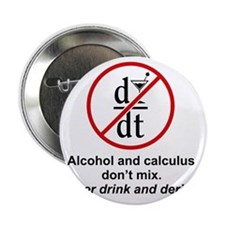 """drink and derive 2.25"""" Button"""