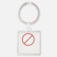 drink and derive wh Square Keychain