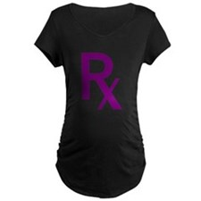 Purple Rx Symbol T-Shirt