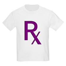 Purple Rx Symbol T-Shirt