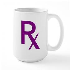 Purple Rx Symbol Mug