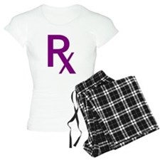 Purple Rx Symbol Pajamas