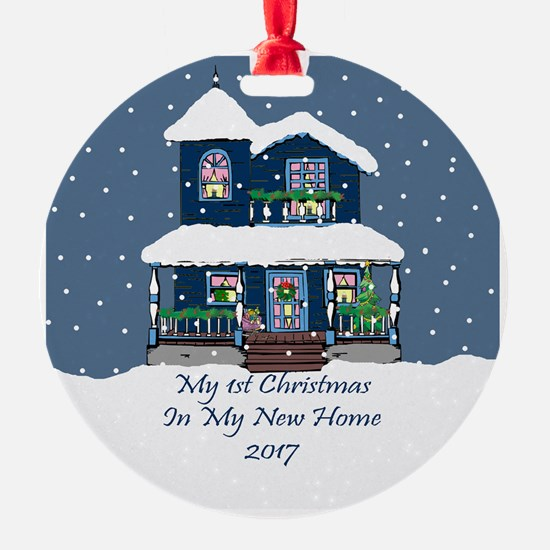 2017 My 1St Christmas House Ornament