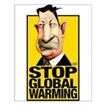 Stop Global Warming -- Small Poster
