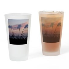 note card cafe Drinking Glass