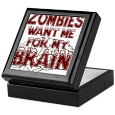 ZombiesWantBrains Keepsake Box