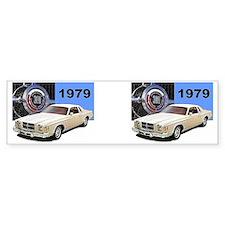 1979 Chrysler 300 MUG Design Bumper Sticker