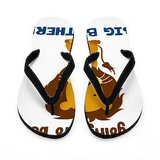 big brother lion2 Flip Flops