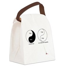 ying-2 Canvas Lunch Bag