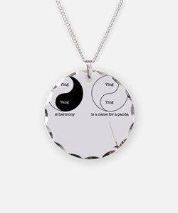ying-2 Necklace Circle Charm