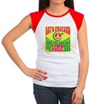 Let's Pretend Women's Cap Sleeve T-Shirt