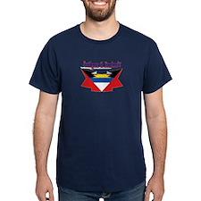 Antigua flag ribbon T-Shirt