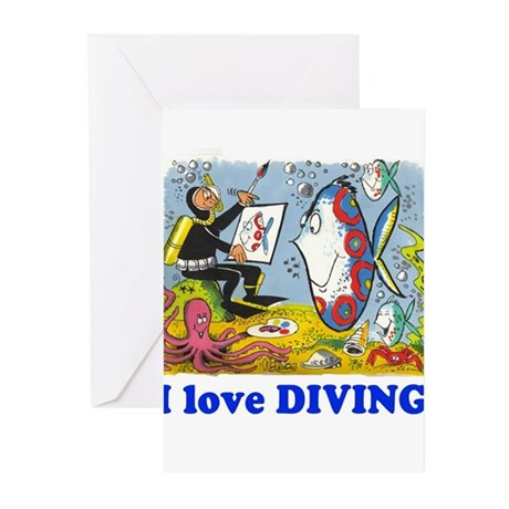 Undersea gifts Greeting Cards (Pk of 10)