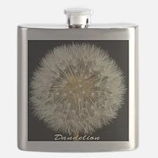 dandelion_c2012byTerryLynch_delrayfont Flask