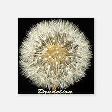 "dandelion_c2012byTerryLynch Square Sticker 3"" x 3"""